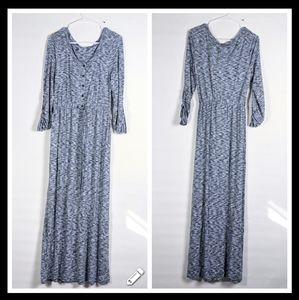 NWT Spense tshirt maxi tie waist short dress